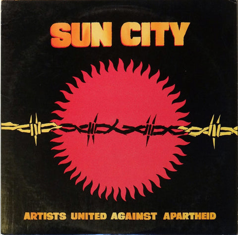 Artists United Against Apartheid ‎– Sun City -1985 Various (vinyl)