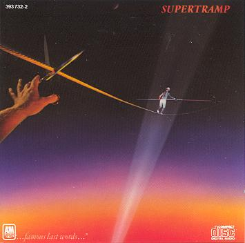 Supertramp Famous Last Words 1982 Rock - (Clearance Vinyl ) cover - paper missing