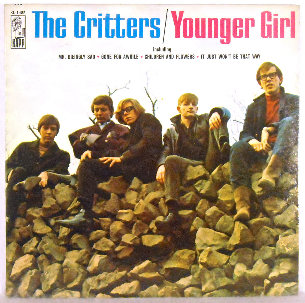 Critters,The ‎– Younger Girl -1966 Garage Rock, Psych (vinyl)