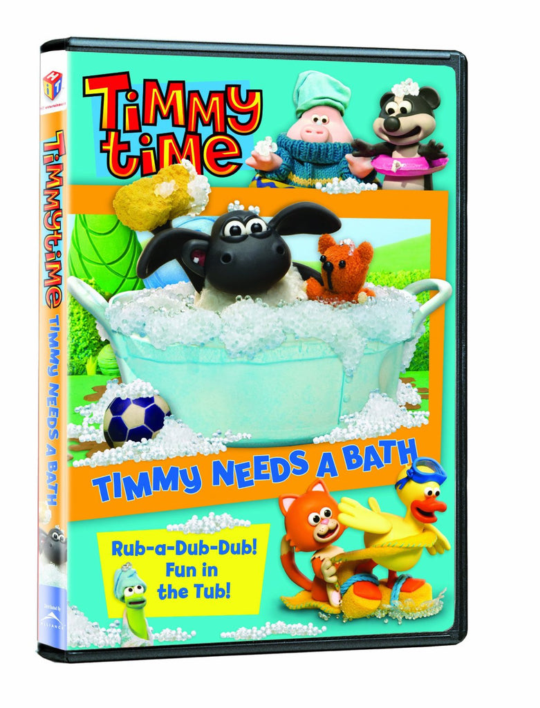 Timmy Time: Timmy Needs A Bath New DVD