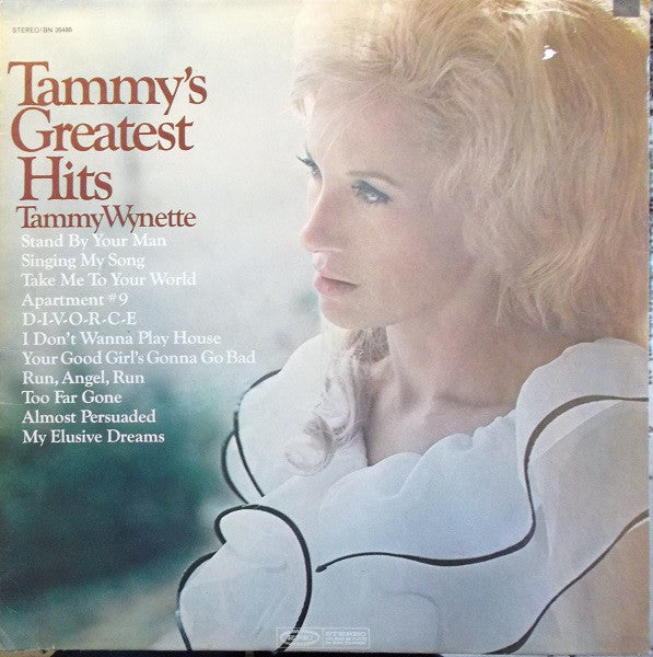 Tammy Wynette ‎– Tammy's Greatest Hits - 1969- Country (vinyl)