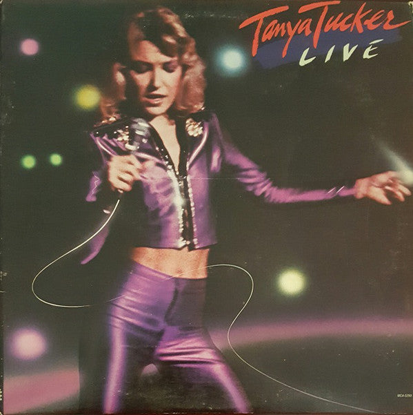 Tanya Tucker ‎– Live - 1982 Country ( Vinyl)