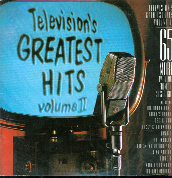 Television's Greatest Hits 50's And 60's - Vol. II - 1986 - (vinyl)