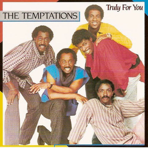 Temptations ‎– Truly For You - 1984-Funk / Soul (vinyl)