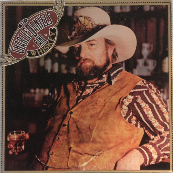 The Charlie Daniels Band ‎– Whiskey - 1977-Country Rock, Southern Rock (vinyl)
