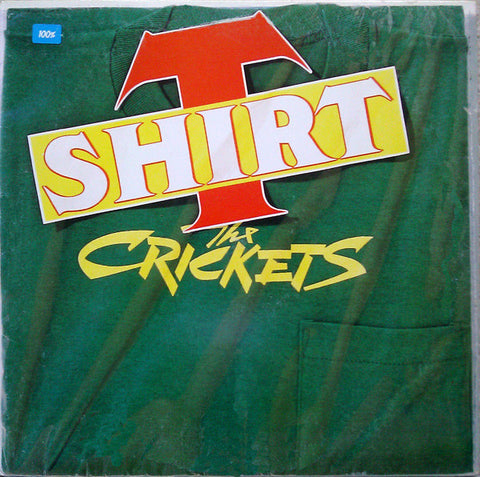 The Crickets  T-Shirt - 1988 -  Rock & Roll (vinyl)