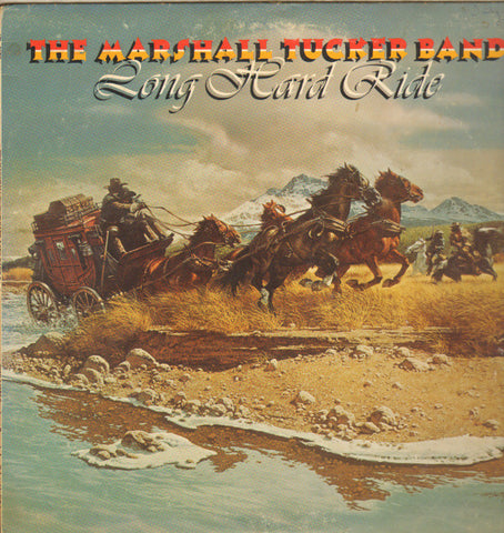 The Marshall Tucker Band ‎– Long Hard Ride -1976- Country Rock, Southern Rock (vinyl)
