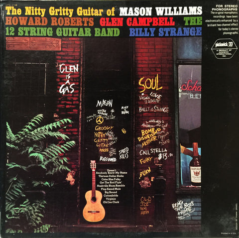 The Nitty Gritty Guitar Of - ( Mason williams, Glen campbell +) Folk, World, & Country (clearance vinyl)