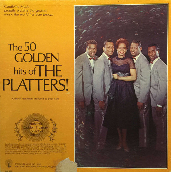 The Platters ‎– The 50 Golden Hits Of The Platters - 4 LP BOX SET - 1975-Rock, Funk / Soul, Pop Style: Rhythm & Blues ( Rare Vinyl)