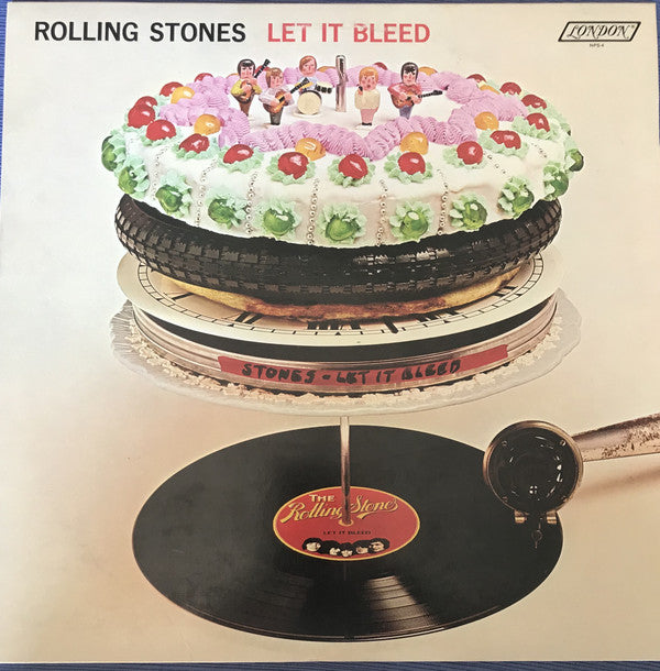 The Rolling Stones ‎– Let It Bleed - 1986- Rock & Roll (vinyl) Reissue, Remastered