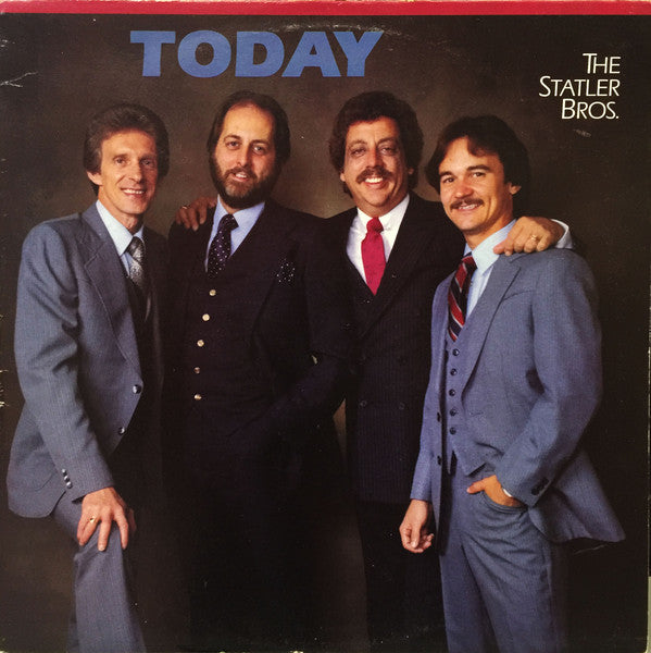 The Statler Brothers ‎– Today -1983-Folk,Country (vinyl)