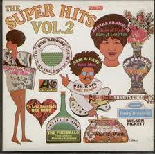 The Super Hits Vol. 2 - 1968 - Buffalo Springfield,Sonny & Cher, Wilson Pickett,  Sam & Dave -   Rock, Funk / Soul, Pop ( Clearance Vinyl ) Marks on Vinyl