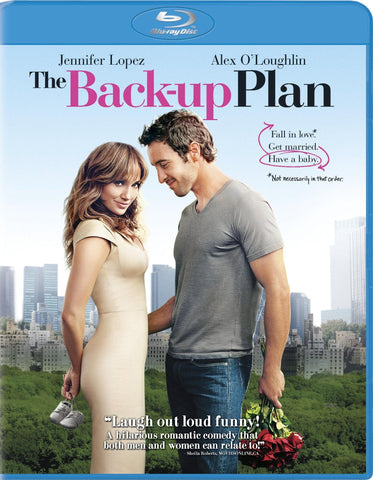 The Back-Up Plan [Blu-ray] Mint used