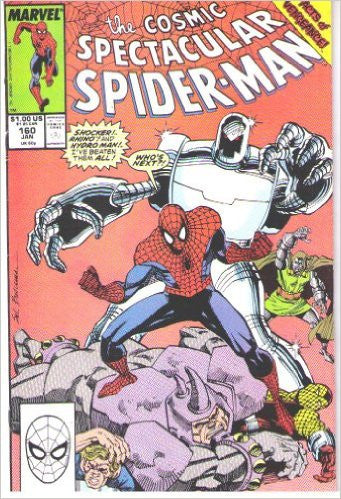Cosmic Spectacular Spider-Man, The : The Fear and the Fury, January 1990 (Vol. 1, No. 160)