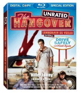 The Hangover: Unrated Special Edition (Bilingual) [Blu-ray] Mint Used