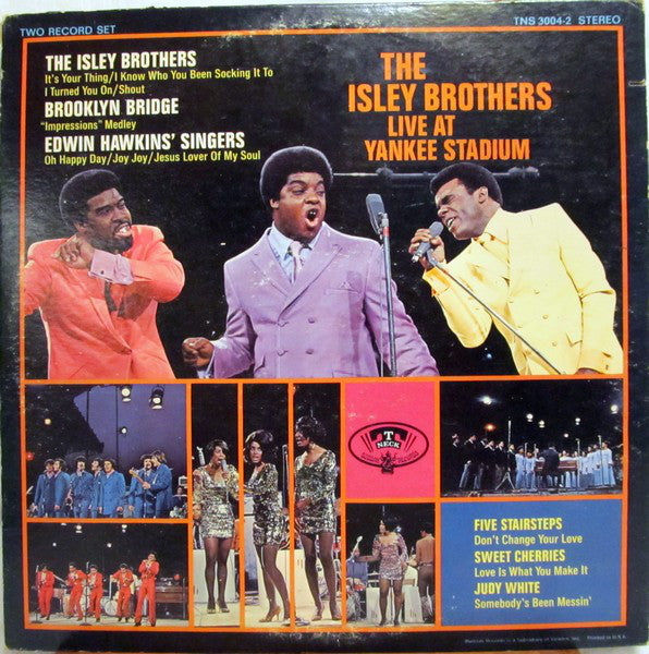 The Isley Brothers Live At Yankee Stadium -1969- Soul, Rhythm & Blues -2 lps (vinyl)