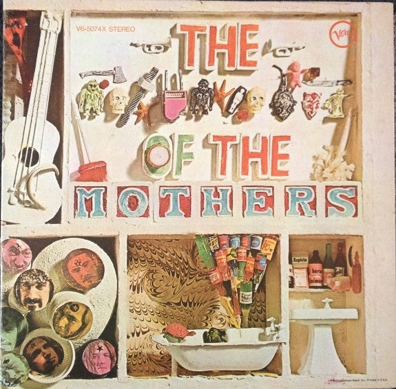 Mothers , The ‎– The **** Of The Mothers 1969 Experimental, Avantgarde