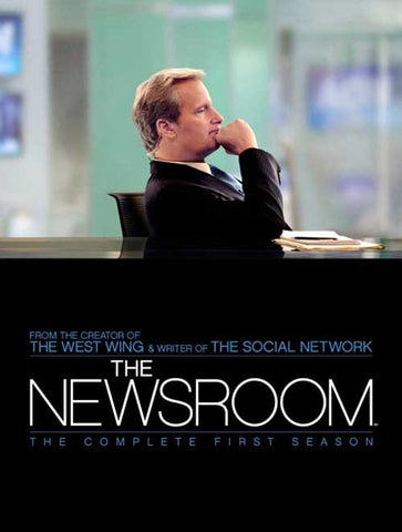 Newsroom ,The - The Complete Season 1 [Blu-ray] Mint used
