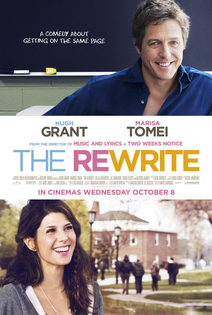 The Rewrite (2015) New Sealed DVD (Hugh Grant)