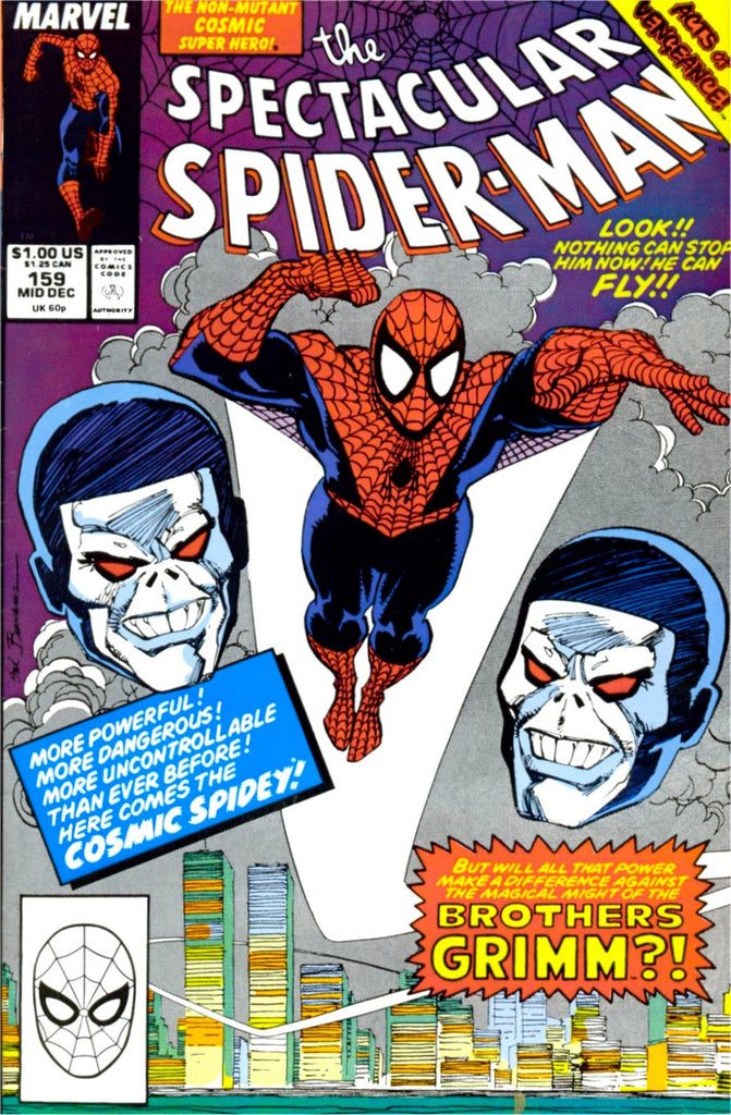 The Spectacular Spider-Man #159 : These Shattered Senses (Acts of Vengeance - Marvel Comics)