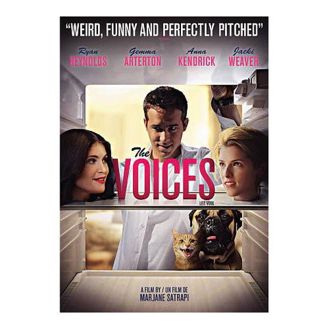 Voices ,The (2015) New Sealed DVD - Ryan reynolds