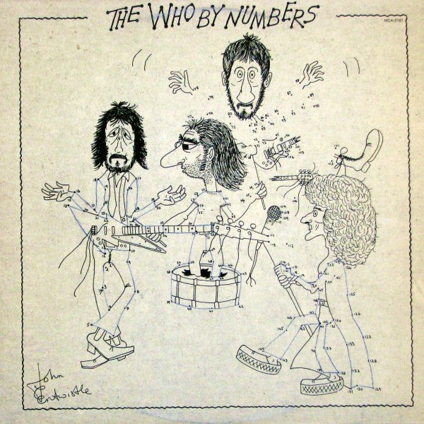 Who ,The  ‎– The Who By Numbers 1975 Classic Rock ( vinyl )