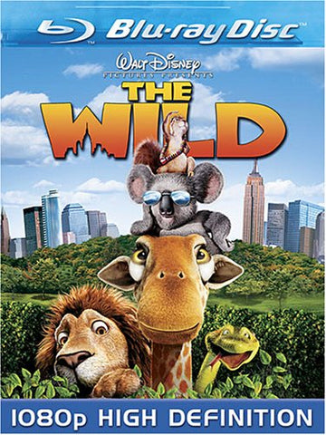 The Wild [Blu-ray] Mint Used