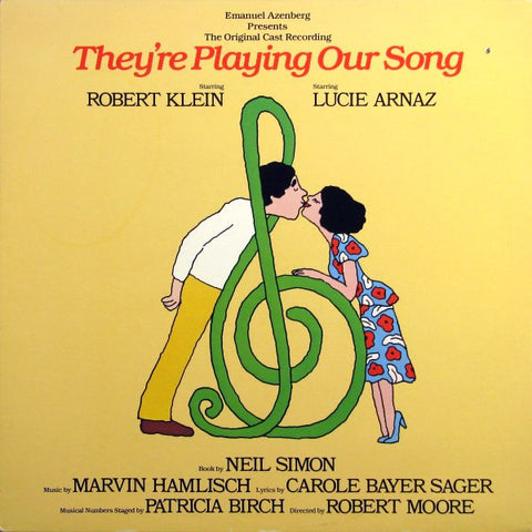 They're Playing Our Song Soundtrack-1979- Marvin Hamlish & Carole Bayer Sager ( Vinyl)