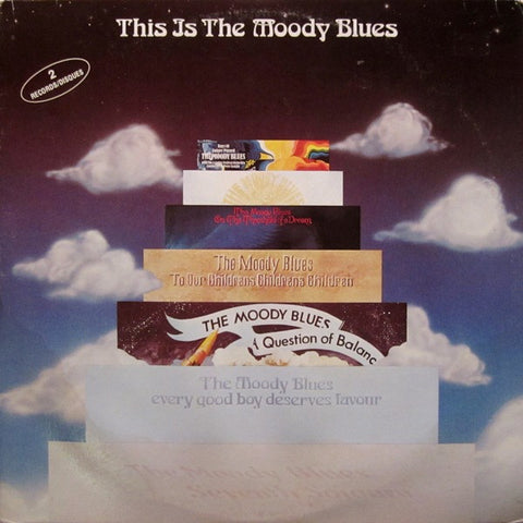 Moody Blues ‎,The – This Is The Moody Blues - 2 lps - 1975  Psychedelic Rock, (Vinyl) Near Mint