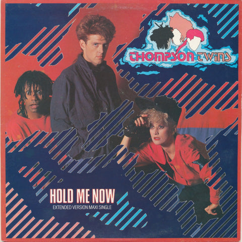 "Thompson Twins ‎– Hold Me Now -1983- Synth-pop -Vinyl, 12"", 45 RPM (Extended Version)"