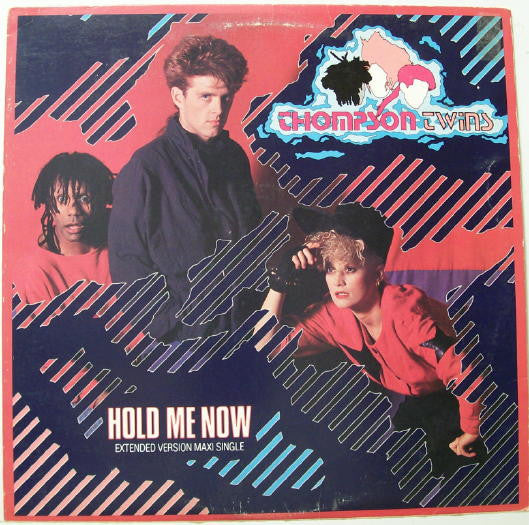 "Thompson Twin 45 RPM Hold Me now / Let Loving Start 12 "" Lp"