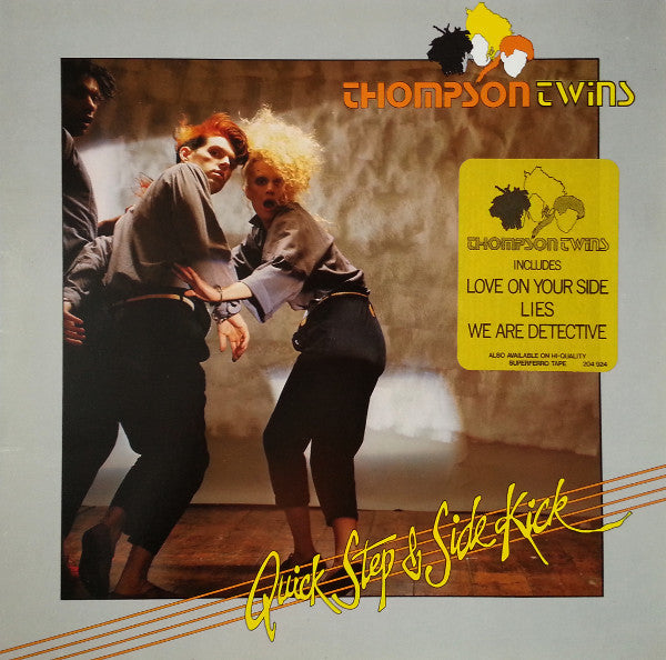 Thompson Twins ‎– Quick Step & Side Kick-1983- New Wave, Synth-pop (vinyl) UK