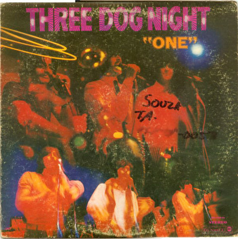 Three Dog Night ‎– Three Dog Night -1969- Classic  Rock, Funk / Soul (clearance vinyl)