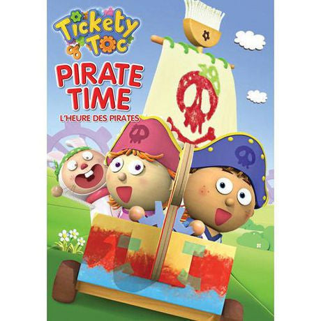 Tickety Toc Pirate Time New DVD