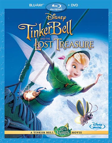 Tinker Bell and the Lost Treasure [Blu-ray + DVD] Mint Used
