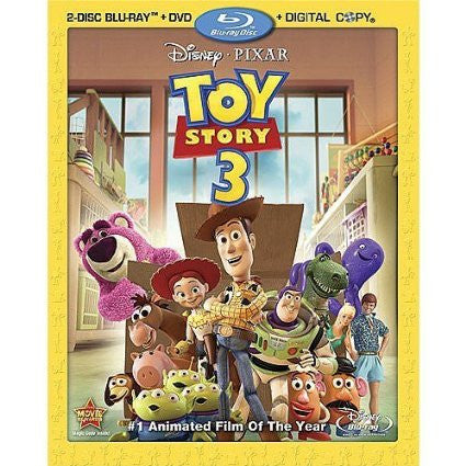 Toy Story 3 (Blu-ray + DVD + Digital Copy) (Bilingual) Mint Used ( never played )