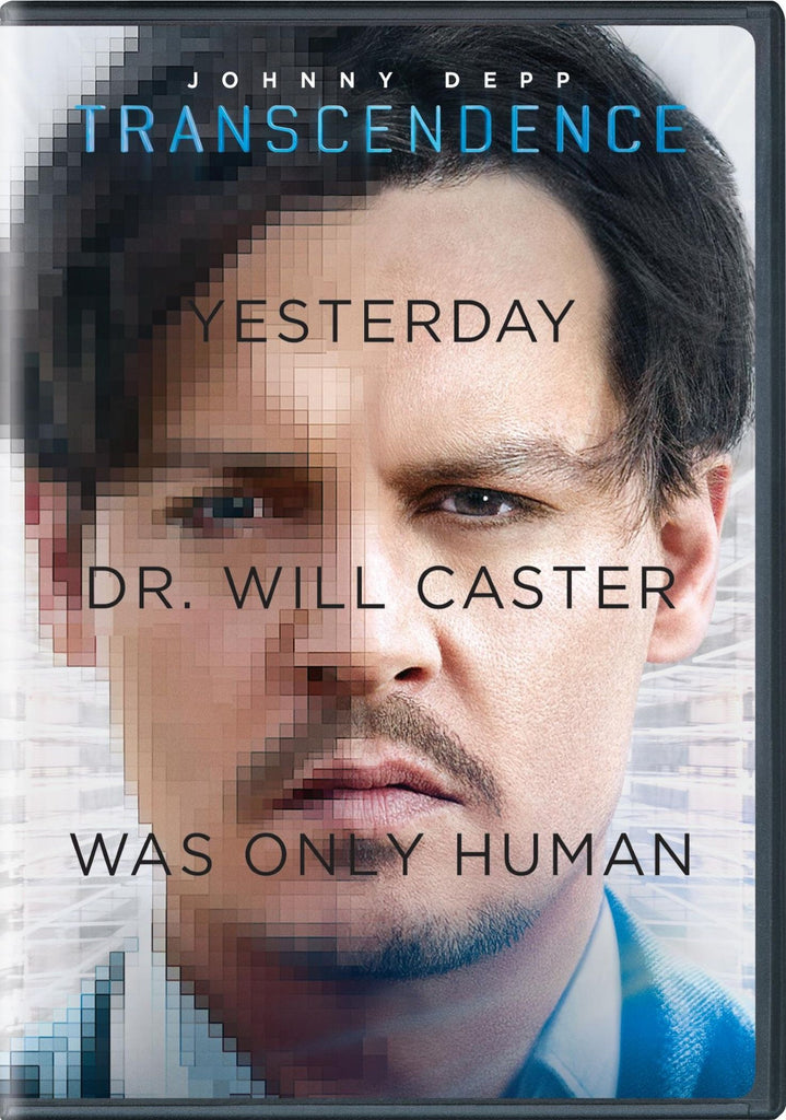Transcendence 2014 DVD - Johnny Depp  ( Mint Used )