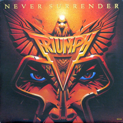 Triumph ‎– Never Surrender - 1983-Hard Rock (vinyl )