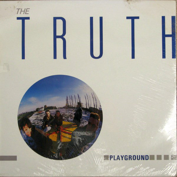 Truth ‎– Playground -1985 Rock (vinyl) Promotional Copy