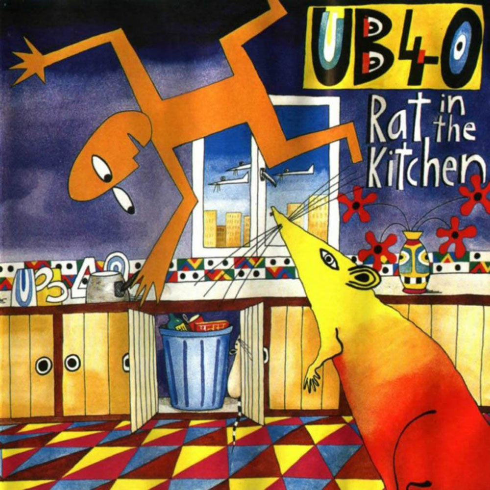UB40 ‎– Rat In The Kitchen ( UK Import )