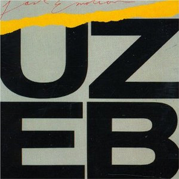 UZEB ‎– Fast Emotion -1982-  Jazz-Rock, Jazz-Funk (vinyl)