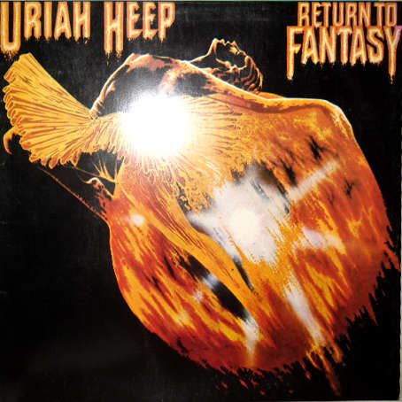 Uriah Heep - Return To Fantasy - 1975-  Hard Rock, Classic Rock (vinyl)