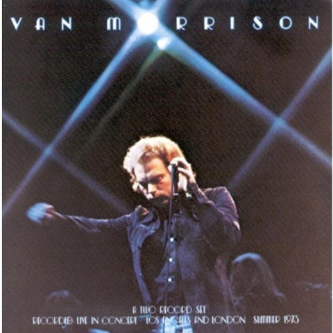 Van Morrison ‎– It's Too Late To Stop Now - 2lps- 1974-Blues Rock, Fusion, Classic Rock (vinyl)
