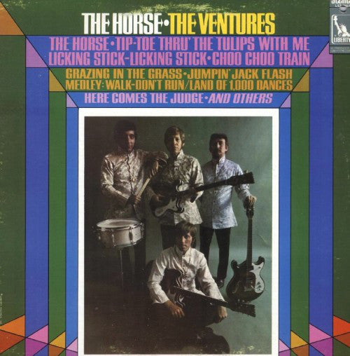 The Ventures ‎– The Horse -1968- Surf, Theme, Psychedelic Rock (vinyl)