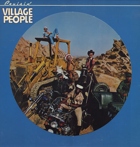 Village People ‎– Cruisin' - 1978 Picture Disc ! (vinyl)