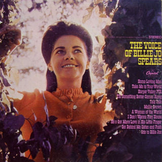 Billie Jo Spears ‎– The Voice Of Billie Jo Spears - 1968-Folk, World, & Country (vinyl)