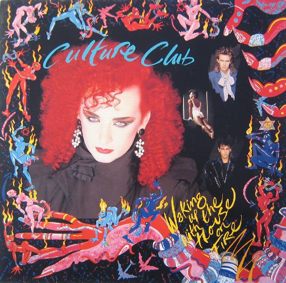 Culture Club ‎– Waking Up With The House On Fire - 1984 pop (vinyl)