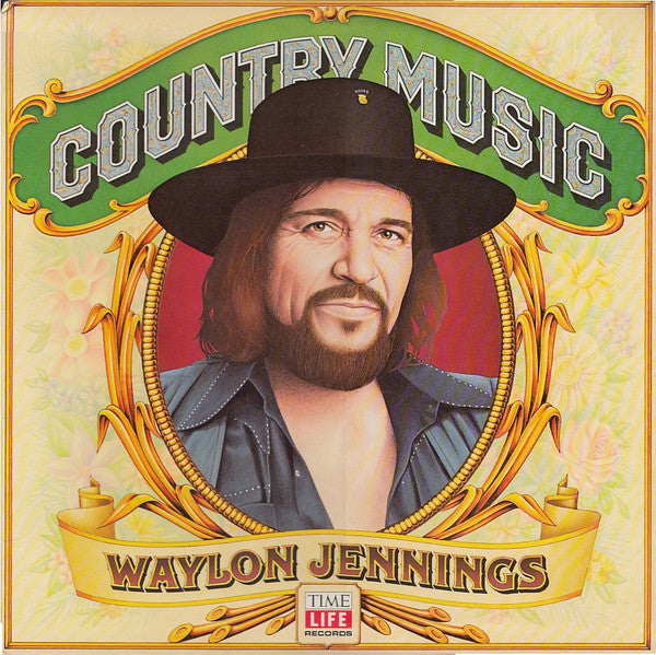 Waylon Jennings ‎– Country Music -1981- Country , Folk (vinyl)