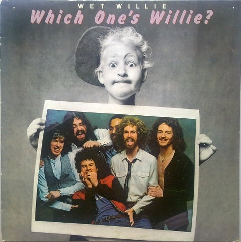 Wet Willie ‎– Which One's Willie? 1979 Classic Rock (vinyl)
