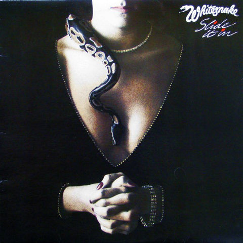 Whitesnake ‎– Slide It In - 1984-Hard Rock (vinyl)